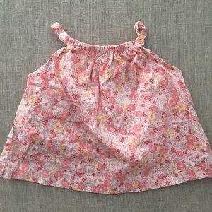 GAP Shirts & Tops - Pink floral top